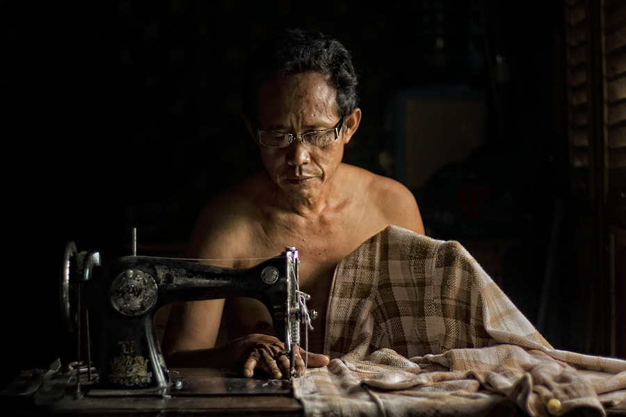 Photograph sewing for living by asit  on 500px