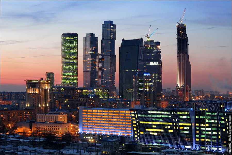 Photograph Moscow International Business Center by Alex Nazarov on 500px