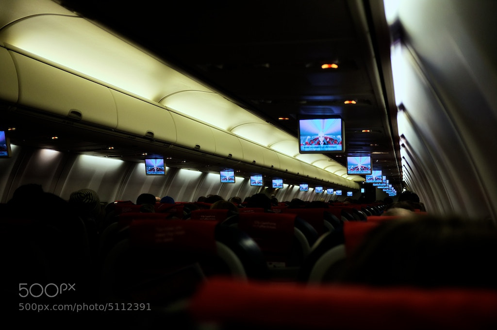 Photograph In flight TV by simon peckham on 500px