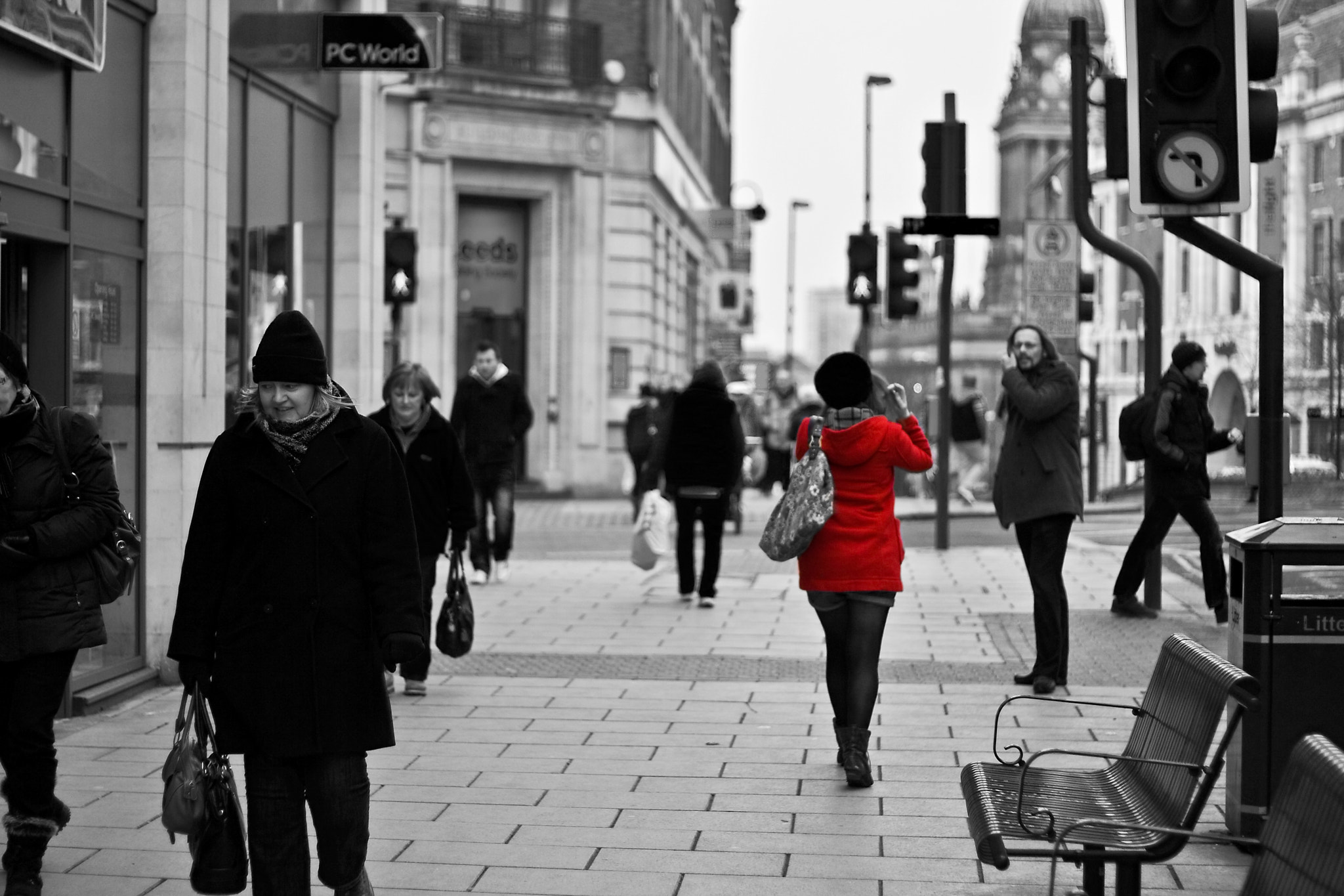 Photograph The Lady in Red by Mike Upshon on 500px