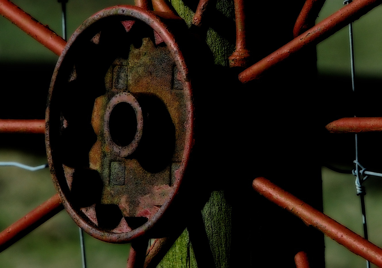 Photograph Rusty Wheel by Don McCabe on 500px