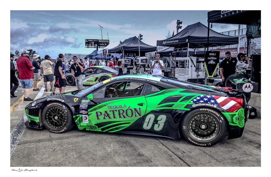 2013 Tequila Patron Grand-Am Ferrari 458