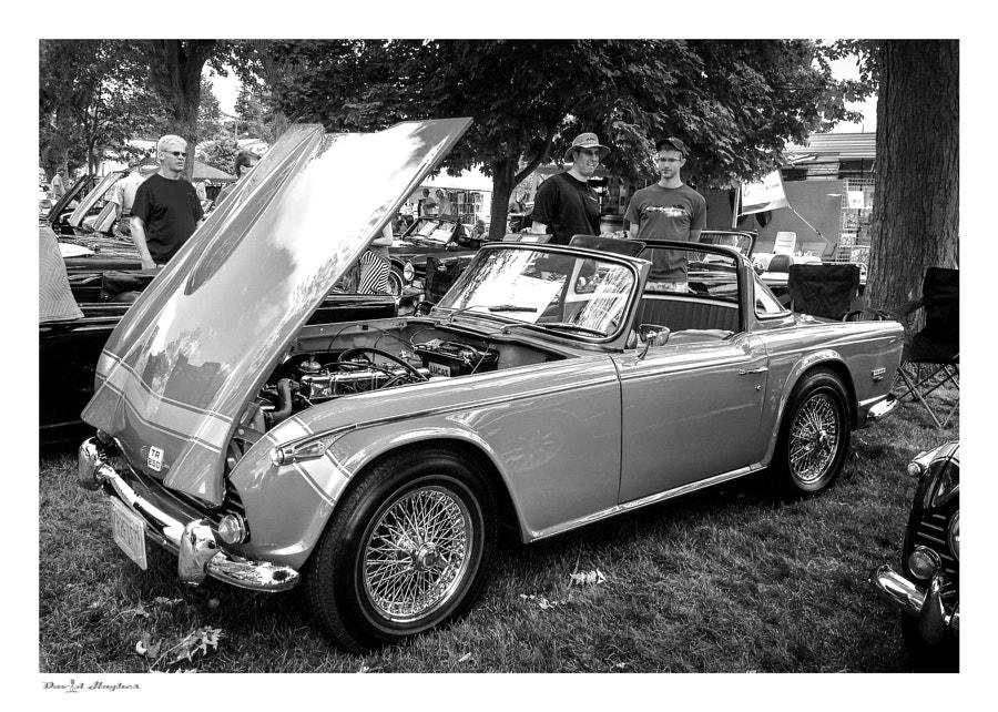 Triumph TR250 bw