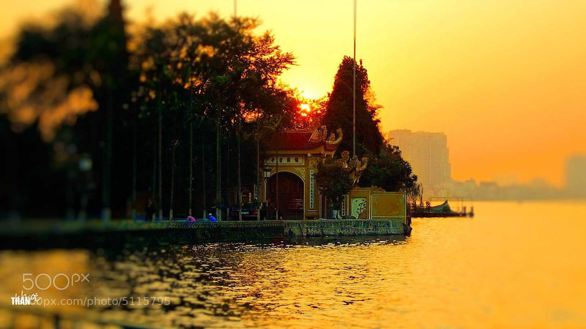 Photograph Sunset at Tran Quoc Pagoda by Khoi Tran Duc on 500px