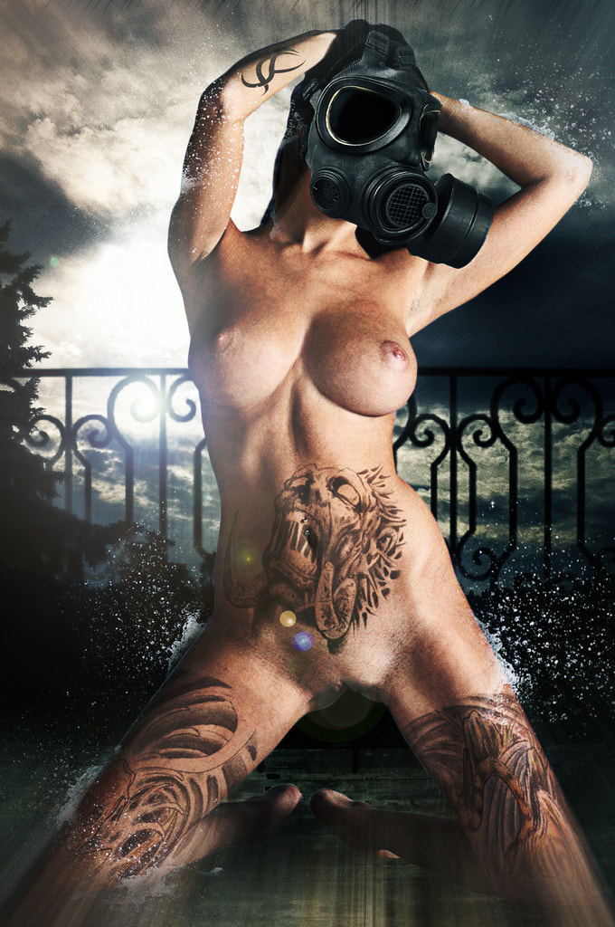 Photograph Nude Tattoo Demond 3 by M2ATK on 500px
