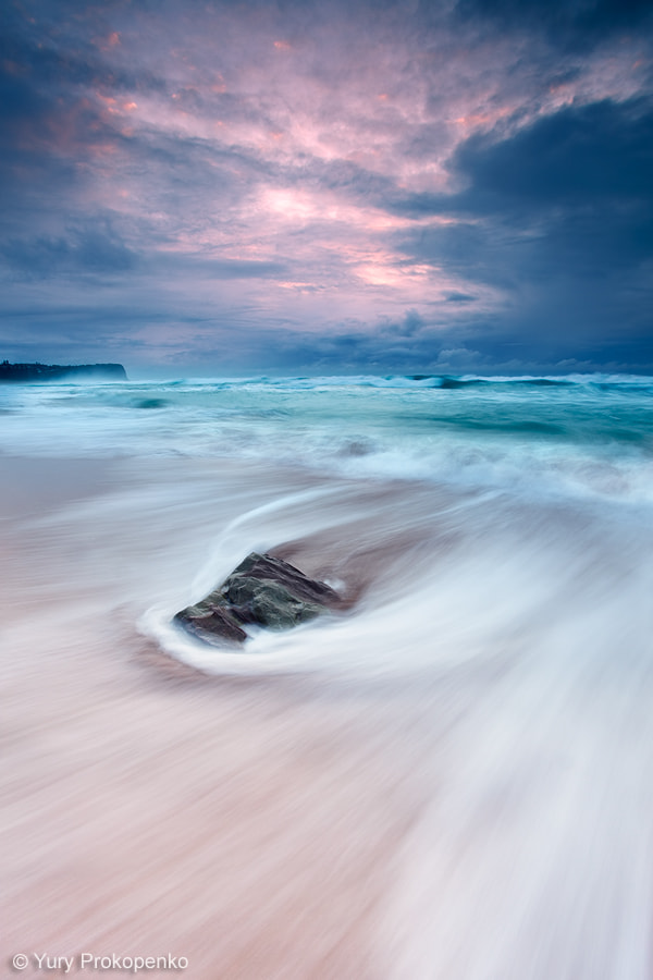 Photograph Rushing Sea by Yury Prokopenko on 500px