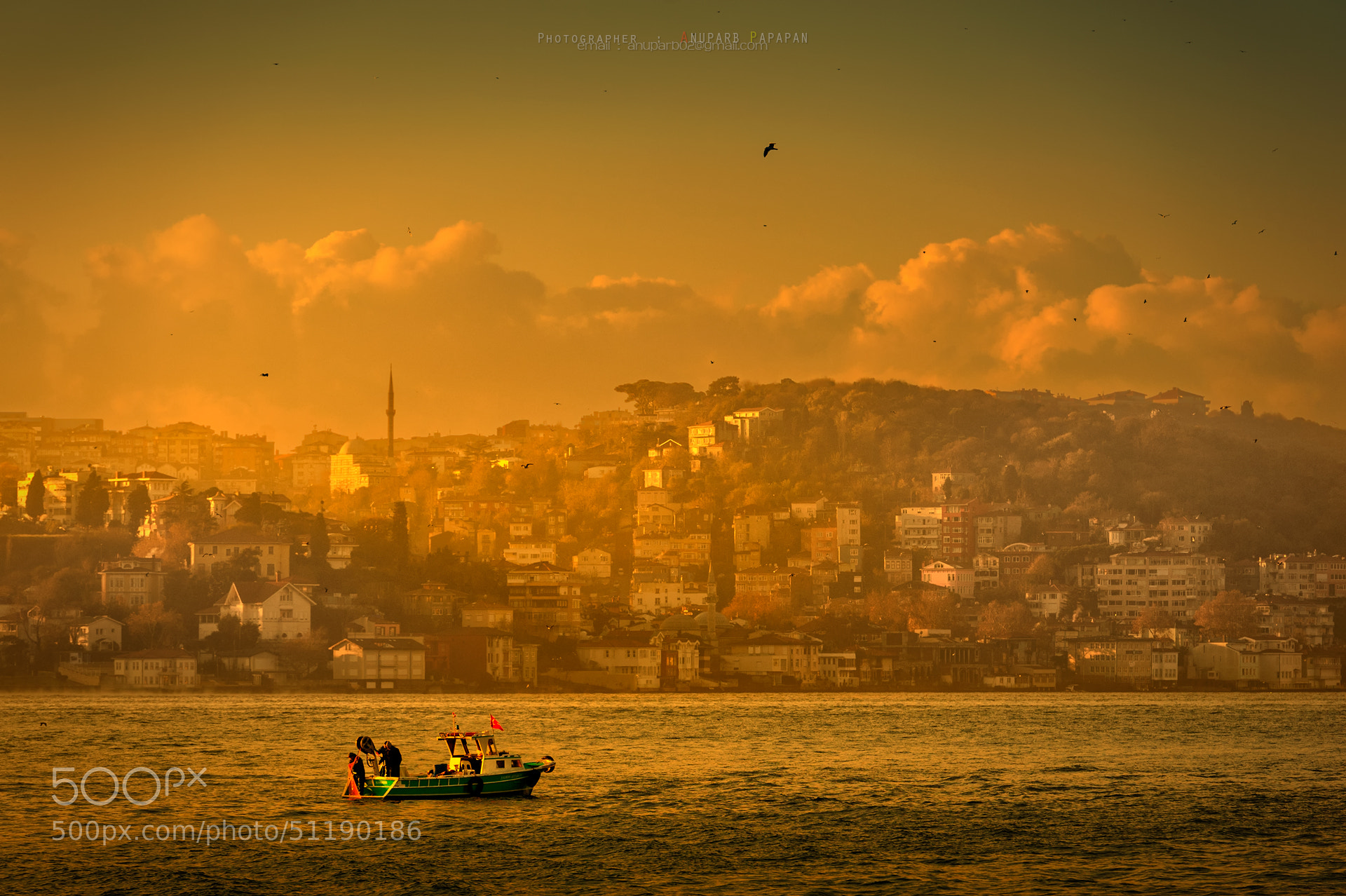 Photograph Morning at Bosphorus Strait by Anuparb Papapan on 500px