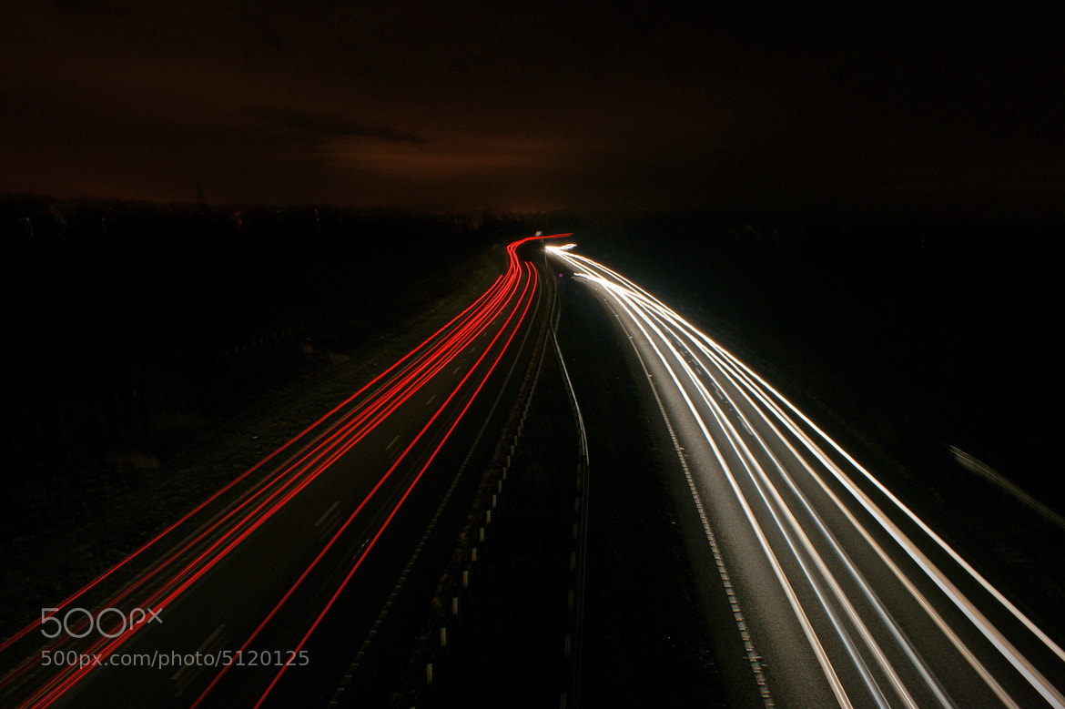 Photograph Car Lights by Steve Wallace on 500px