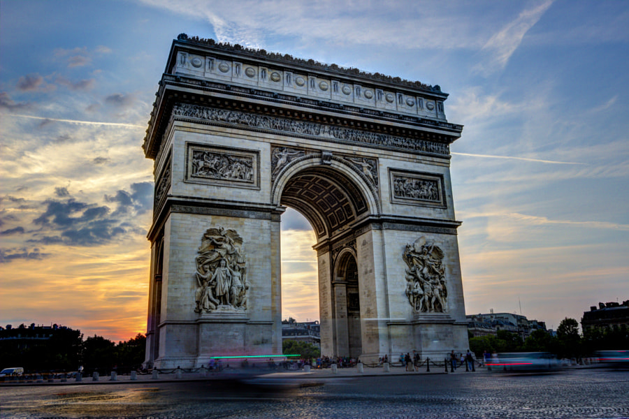 Arc De Triomphe 3 by John Velocci on 500px.com