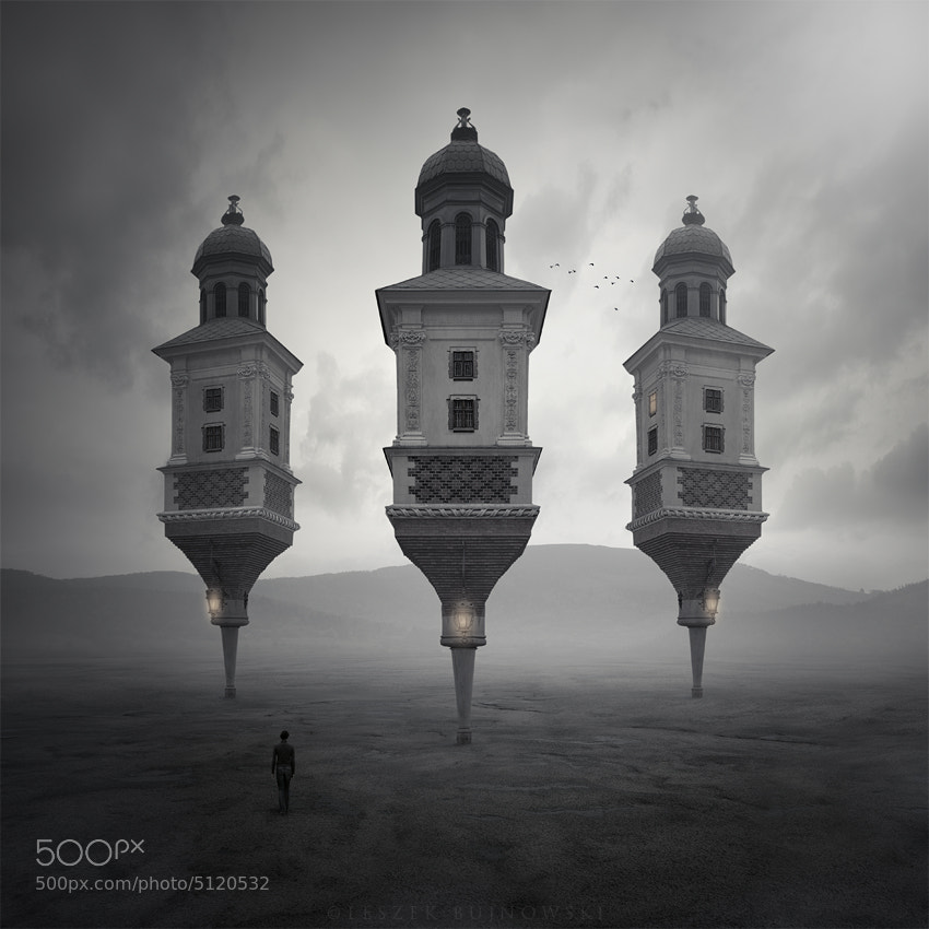 Photograph Three towers by Leszek Bujnowski on 500px