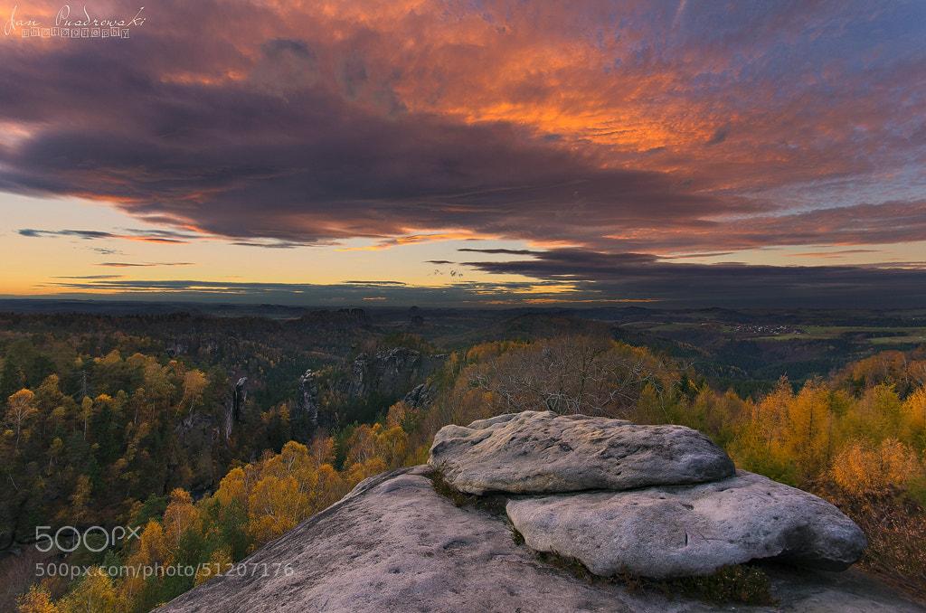 Photograph Autumn Fire by Jan Pusdrowski on 500px
