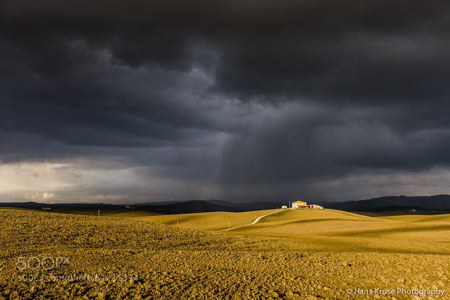 I'm on my way to Tuscany again on Wednesday to lead the Tuscany November workshop. The weather forecasts look at the moment for dramatic weather. Here is a shot from November 2010.