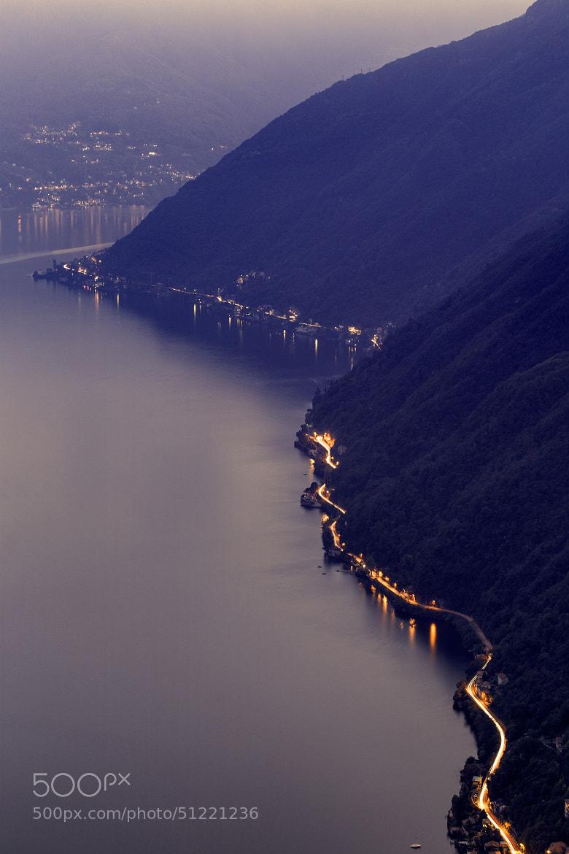 Photograph Road to Como by Pierre de Izarra on 500px