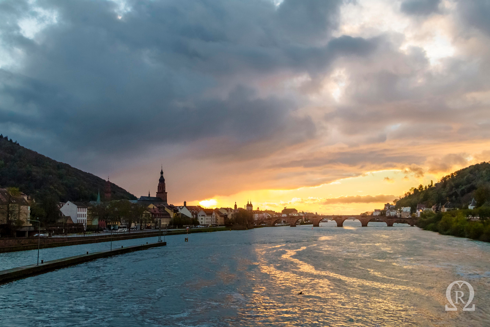 Photograph Heidelberg - Stormy Sunset by Michal Renee on 500px