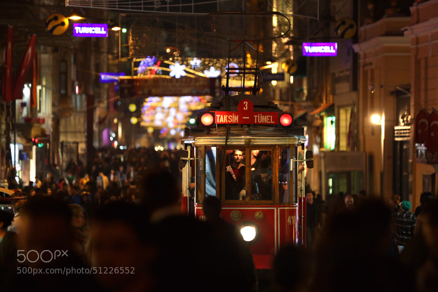 Photograph Istiklal tram by Mark Podrabinek on 500px