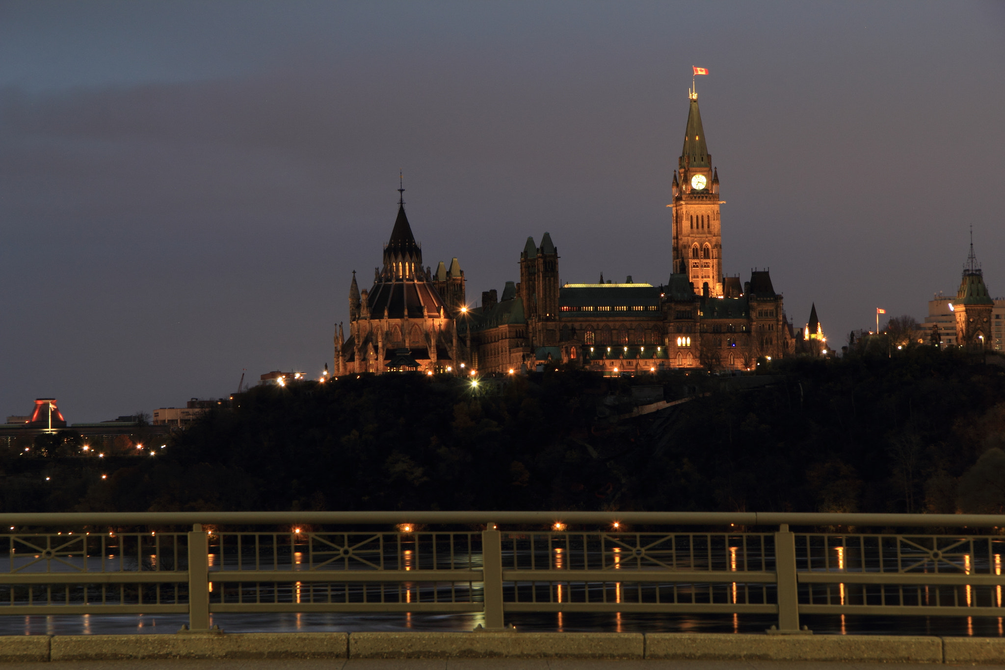 Photograph Bridge view of Parliament Hill by Matthew Henry on 500px