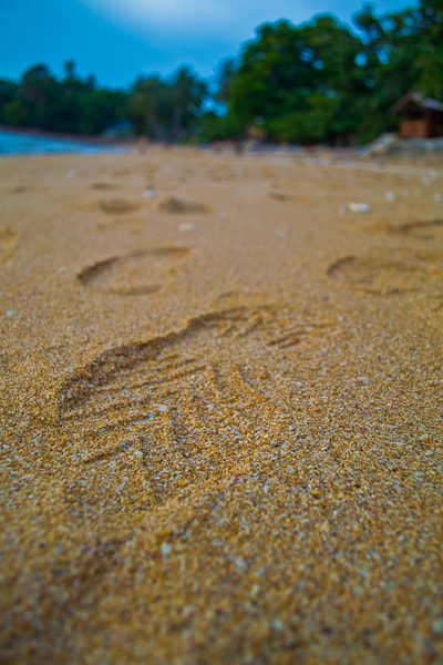 Photograph Foot print by Zul Hakim on 500px
