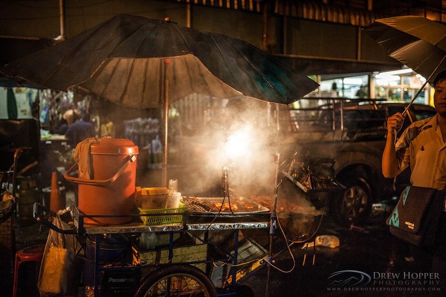 Photograph Street Vendor by Drew Hopper on 500px