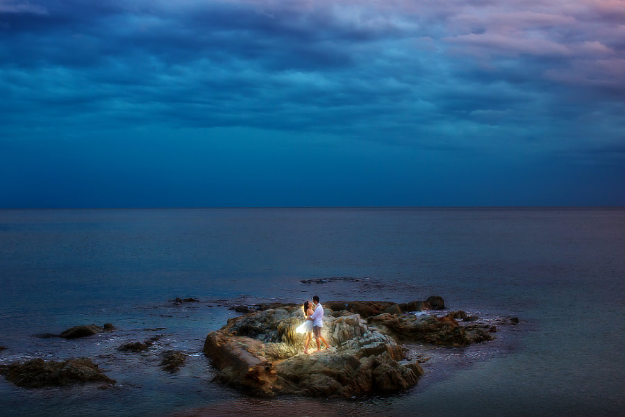 Photograph Peaceful horizons by Cole Kor on 500px, engagement photo ideas