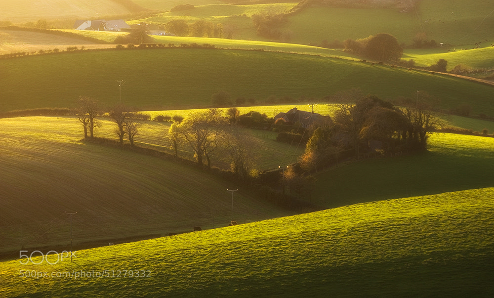 Photograph Fields of Ireland by Lukasz Maksymiuk on 500px