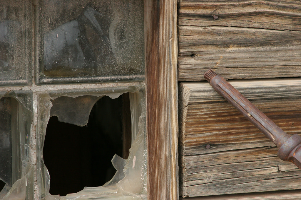 Photograph Broken Window by Craig Parks on 500px