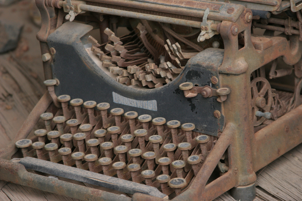 Photograph Has Anyone Seen My Typewriter? by Craig Parks on 500px