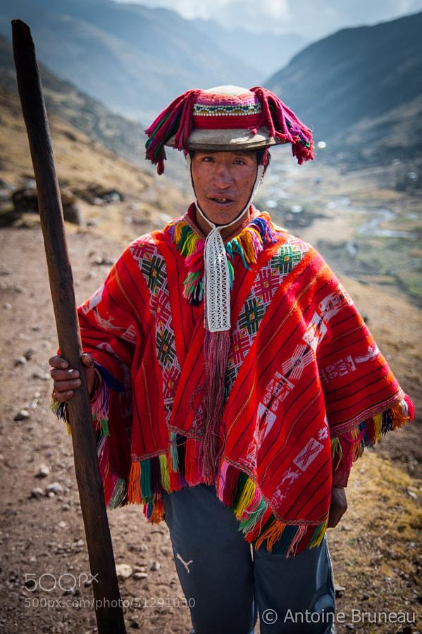 Quechuan Portrait