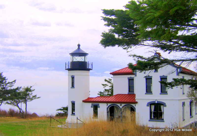 Photograph Admiralty Head Lighthouse by Rue McKee on 500px