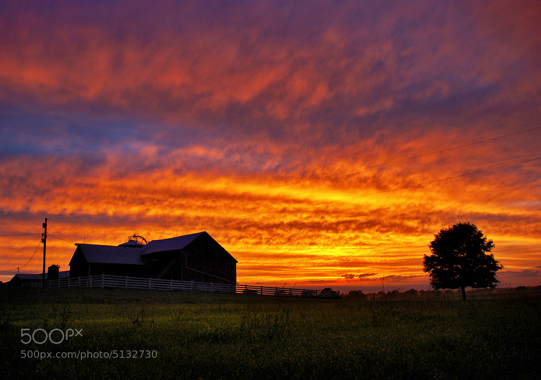 Photograph Countryside Sunset by Matt Molloy on 500px