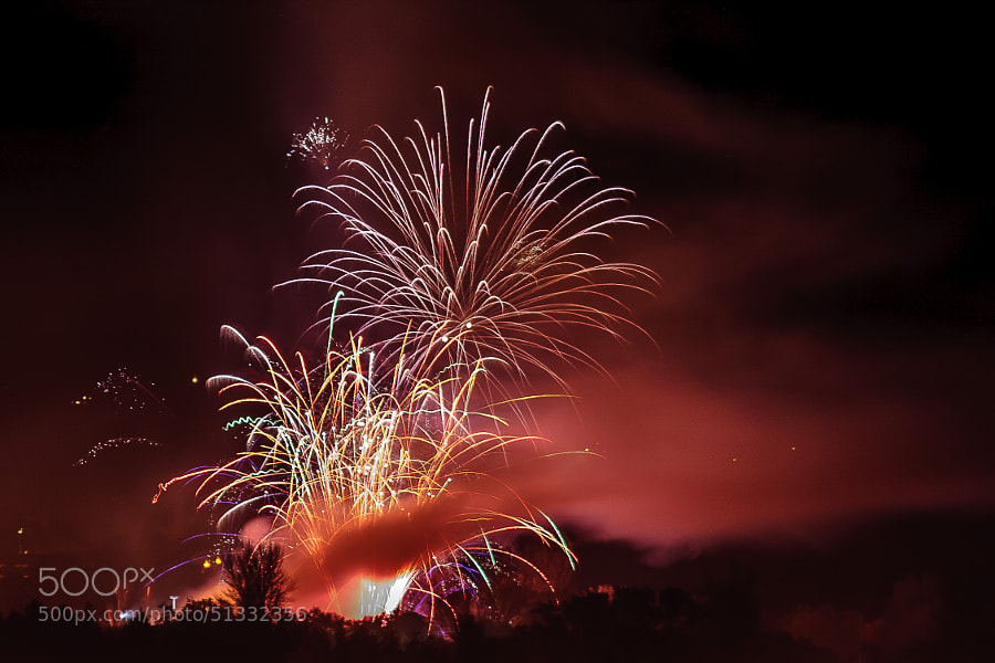 Fireworks on Guy Fawkes