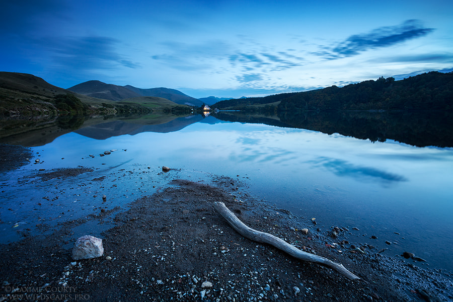 Photograph The Guéry lake at dusk by Maxime Courty on 500px
