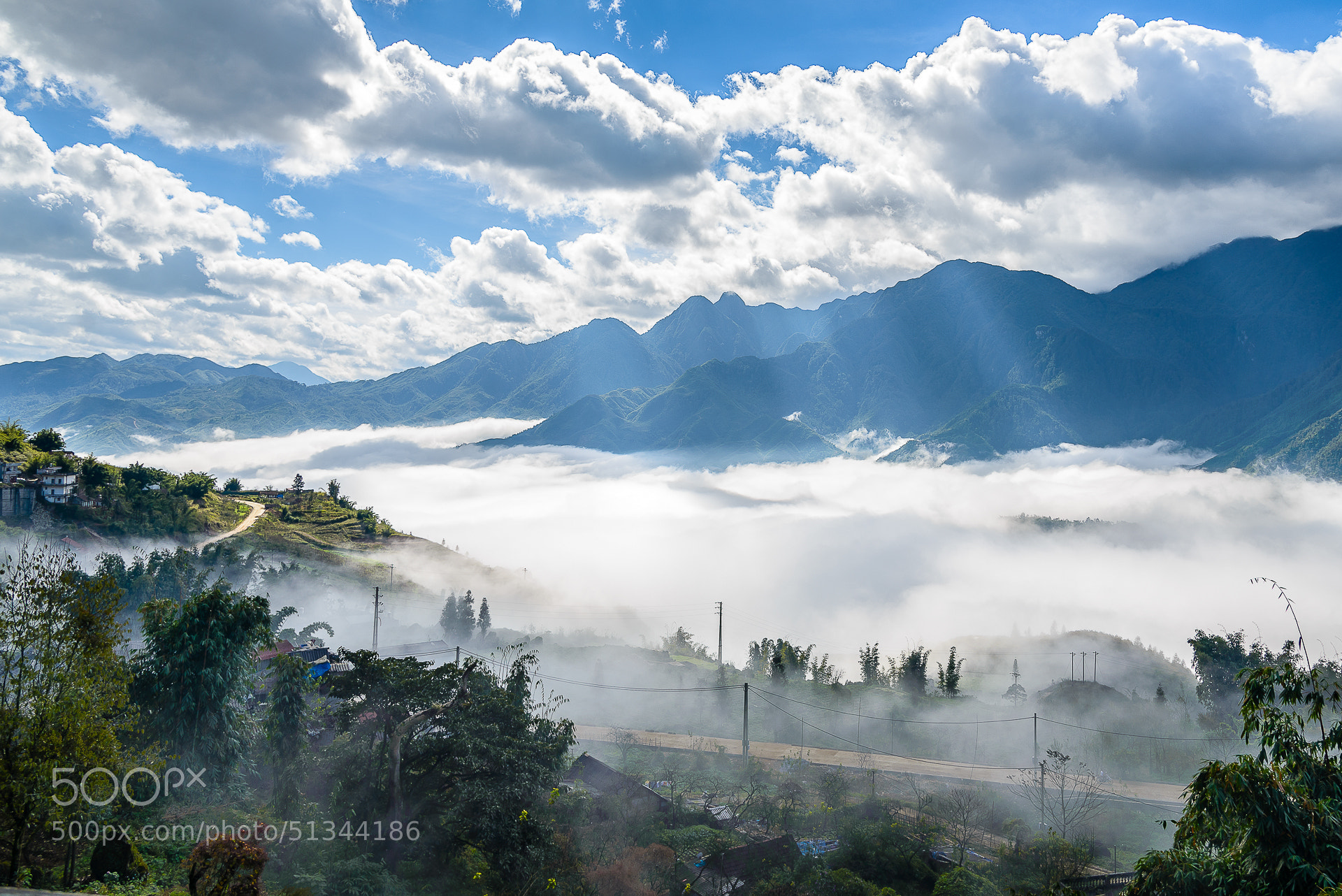Photograph Foggy mountains by Michel Doyon on 500px