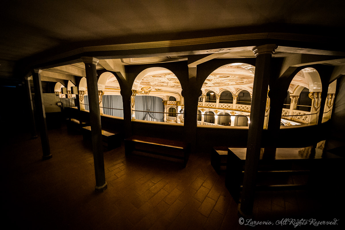 Photograph Teatro Lauro Rossi, inner by Roberto Flamini on 500px