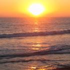 Enjoying a sunset in San Clemente, California.