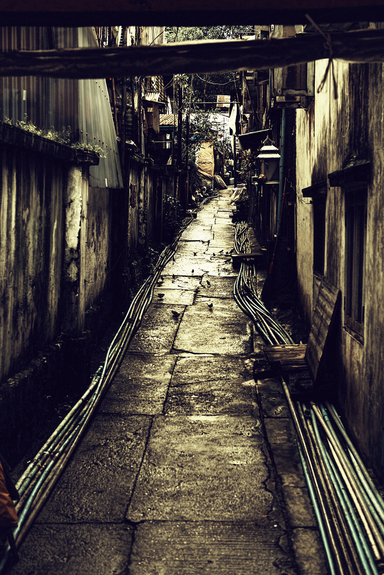 Photograph Small Lane in Yangon by VisionROLLS  on 500px
