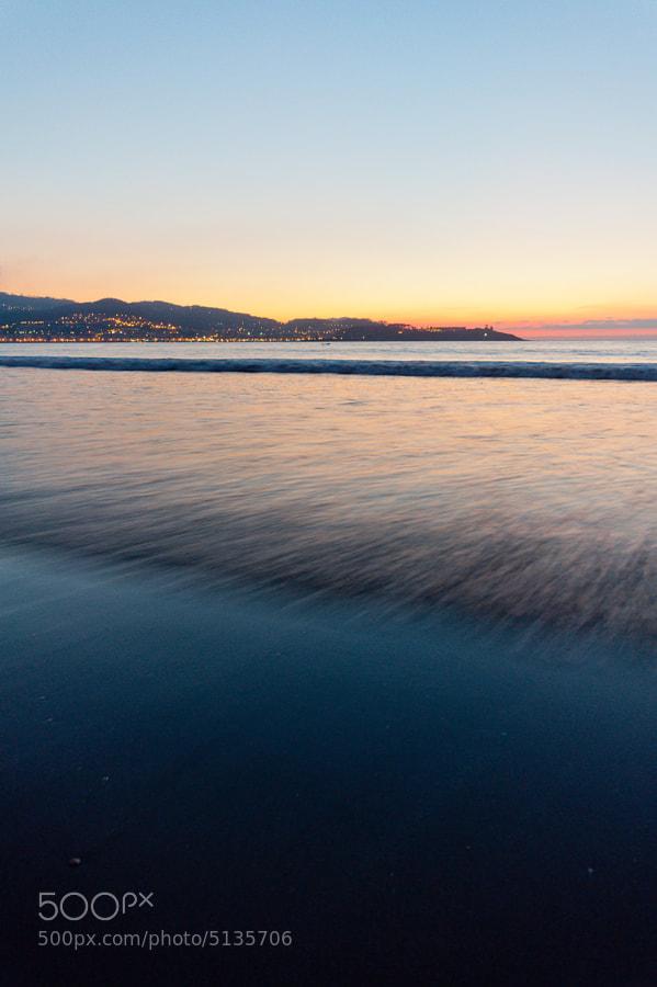 Playa América. Nigrán. Pontevedra. Spain