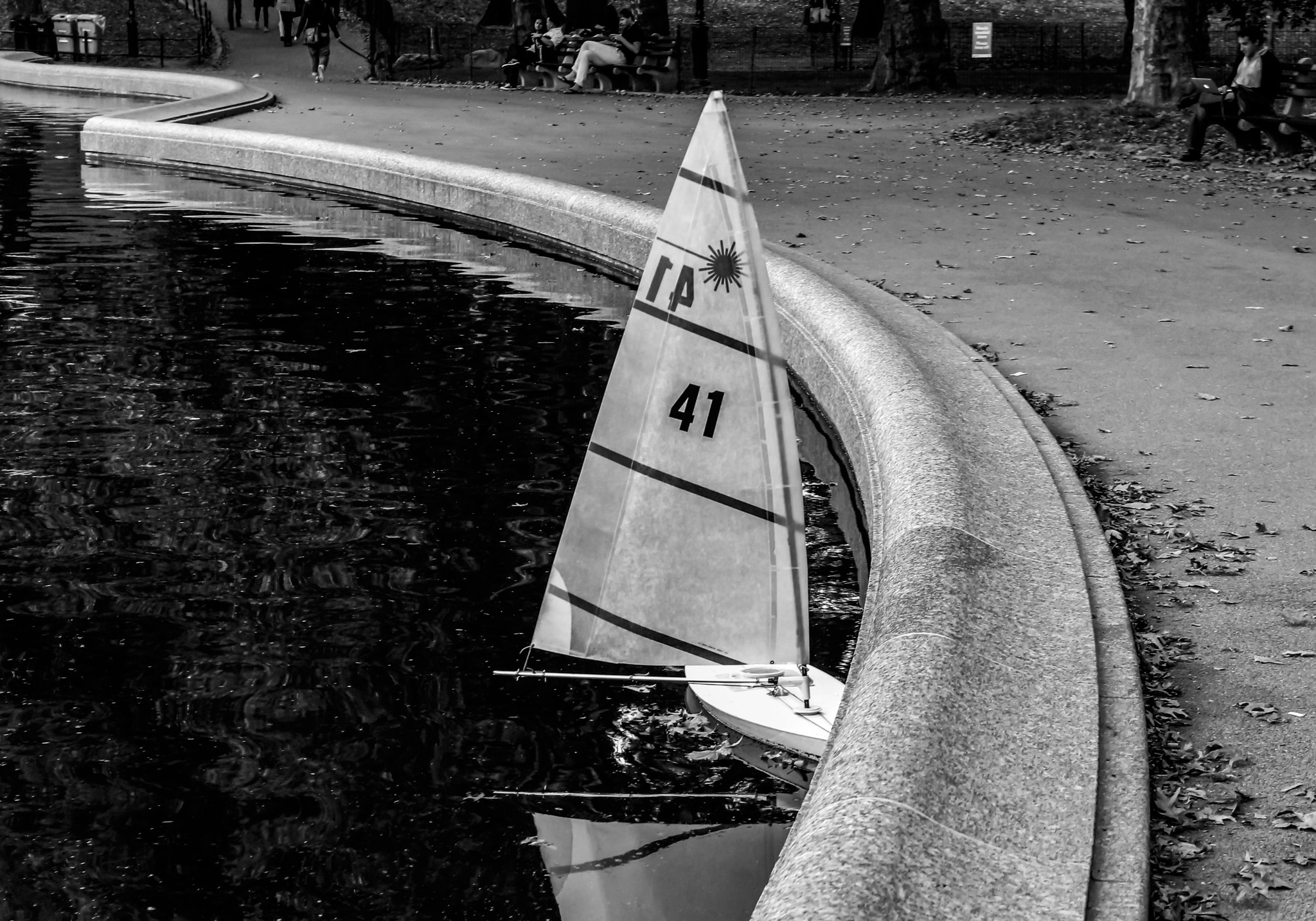 Photograph Central Park Sailboat by Georgina Gomez on 500px