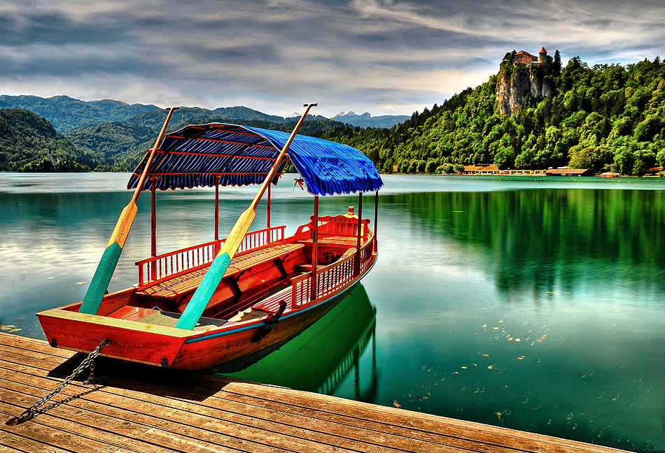 Photograph Boat on Lake Bled by Aubrey Stoll on 500px