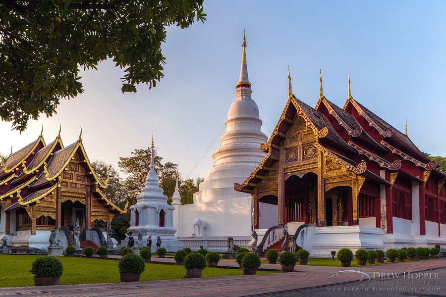 Photograph Wat Phra Singh by Drew Hopper on 500px