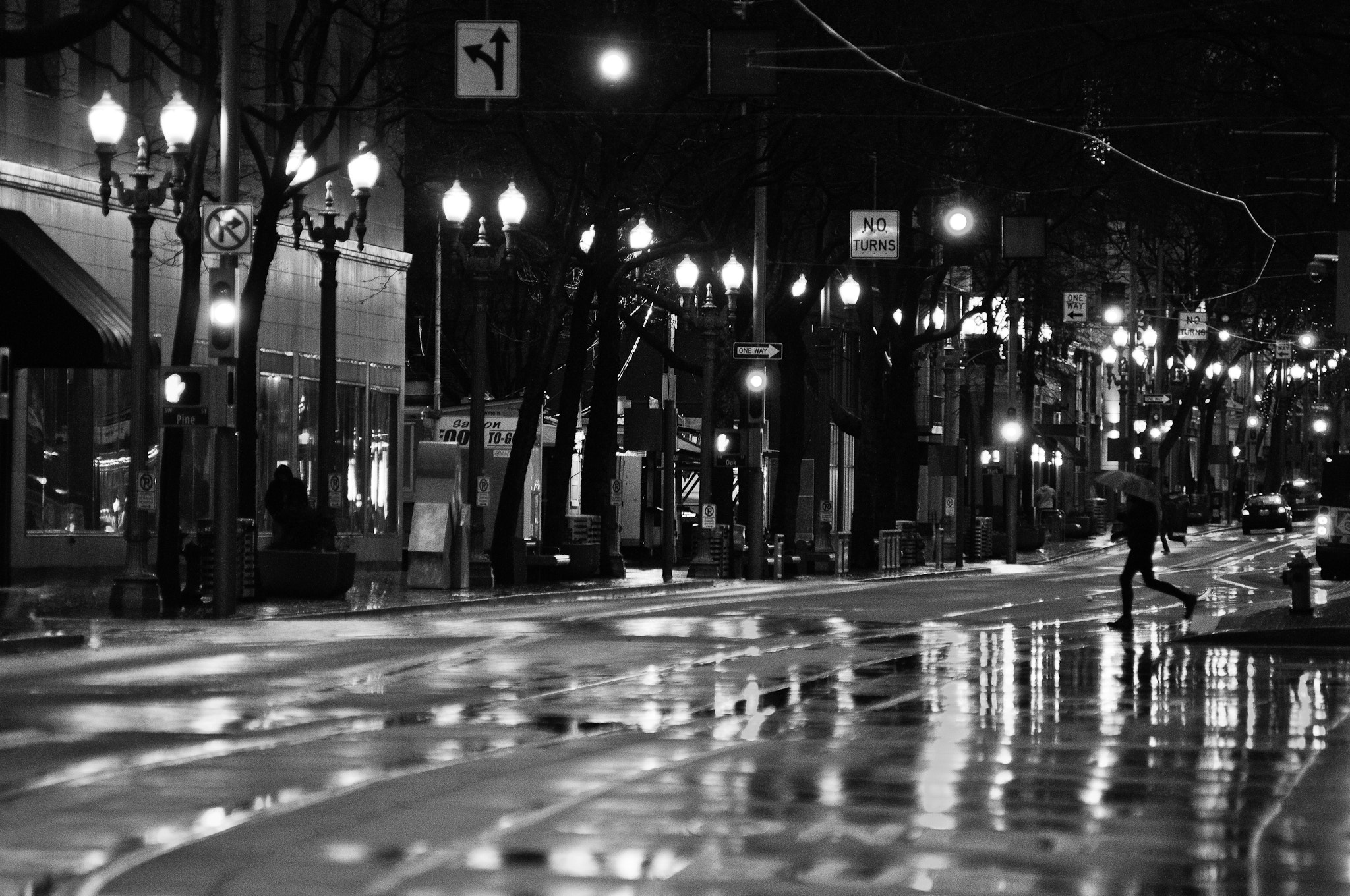 Photograph A rainy night in Portland by Dennis Rivera on 500px