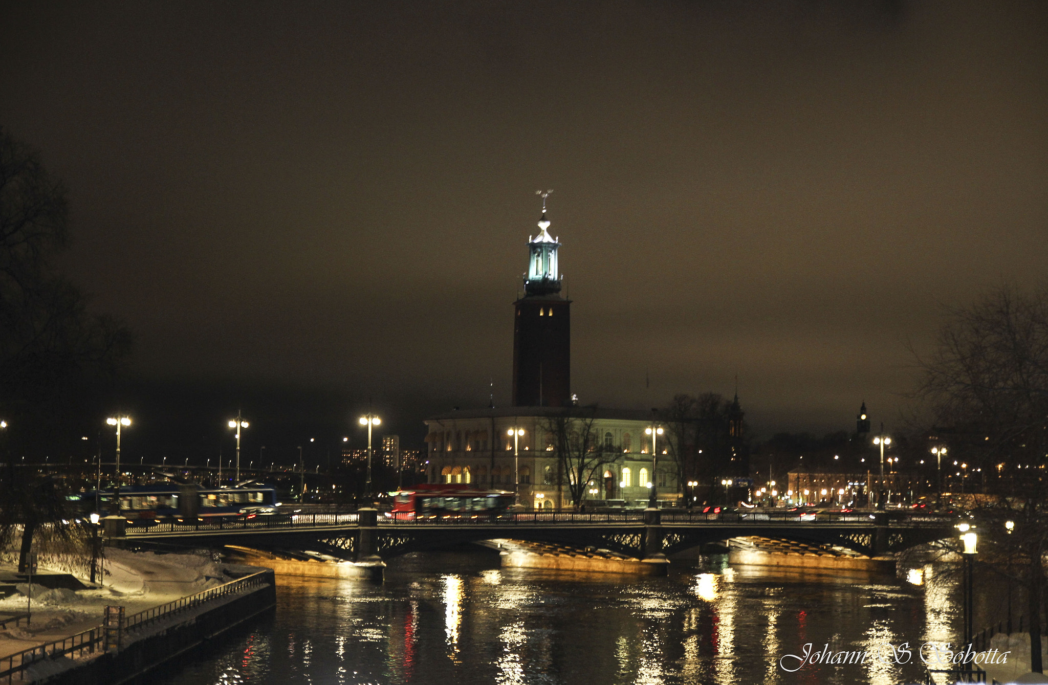 Photograph Stockholm by night by johann s. on 500px