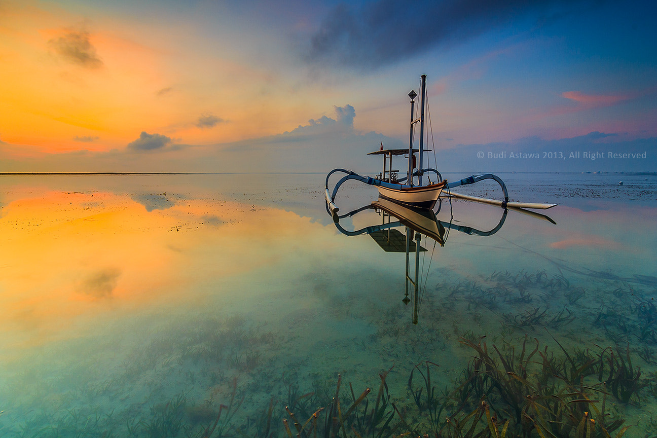 Photograph A Boat of Karang Beach by Budi Astawa on 500px