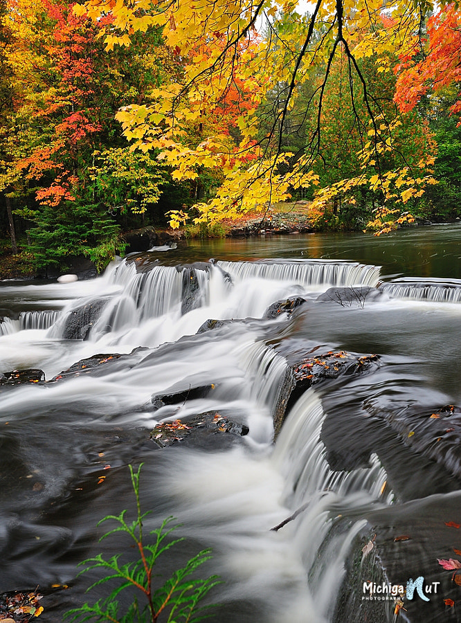 Autumn at Bond Falls Michigan