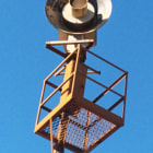 The sirens were tested in unison at 10 a.m. on the last Friday of every month. In the 1950s and early '60s, neighborhoods were clustered in pockets across the Valley-each within earshot of sirens typically placed atop tall fire stations or attached to 30-foot steel poles.  When the siren was bolted to the top of a 15-foot tower on the roof of a city fire station near Coldwater Canyon Avenue and Ventura Boulevard in the early 1950s, residents were warned of the monthly tests so they wouldn't panic, she said.  Trees also partially screen a siren from nearby homes on Parthenia Street in Winnetka. In Encino, a 30-foot-tall siren is hidden among high-rise office buildings that have sprung up in recent years at Gloria Avenue and Ventura Boulevard.