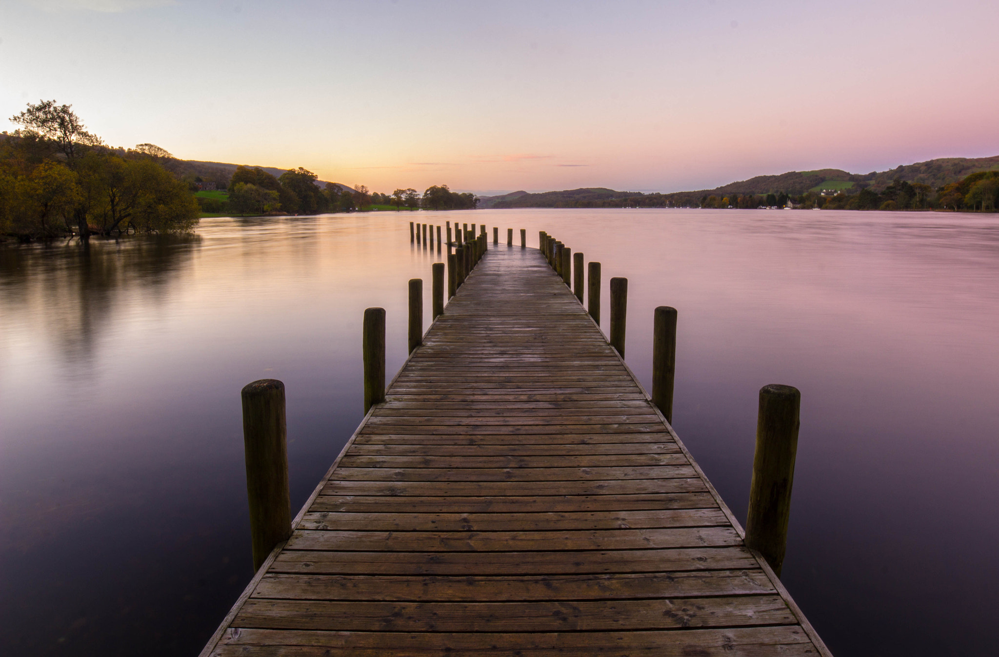 Photograph Sunrise at Coniston Lake by Dan James on 500px
