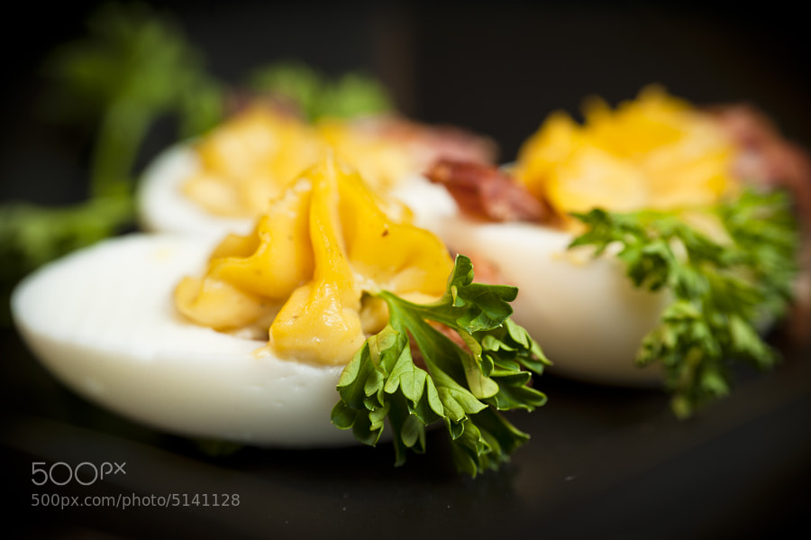 Balsamic Bacon Devilled Eggs by Jay Scott (jayscottphotography)) on 500px.com