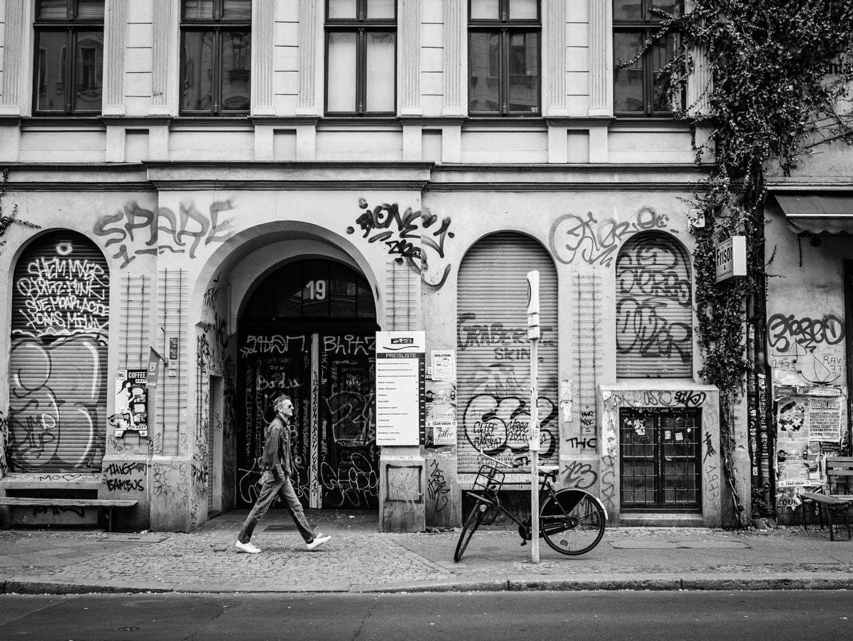 Berlin street walking