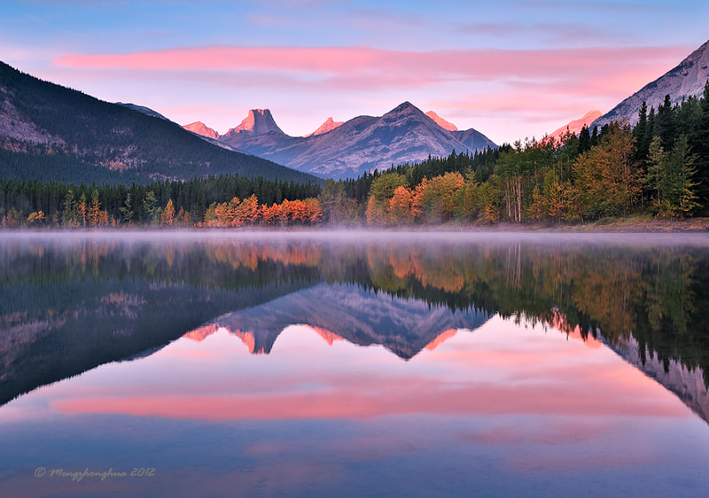 Photograph Autumn Morning by zhonghua meng on 500px