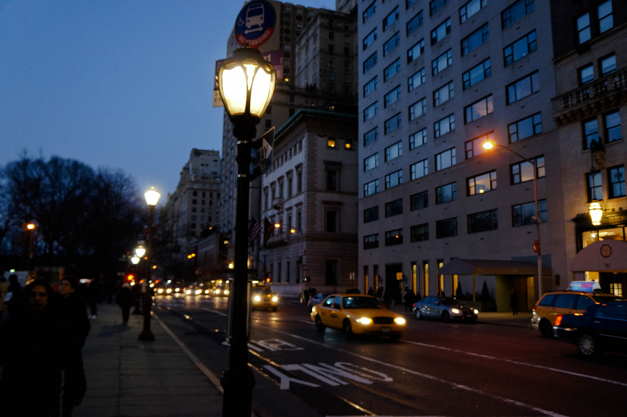 Photograph Lampposts on Fifth by Peter Wu on 500px
