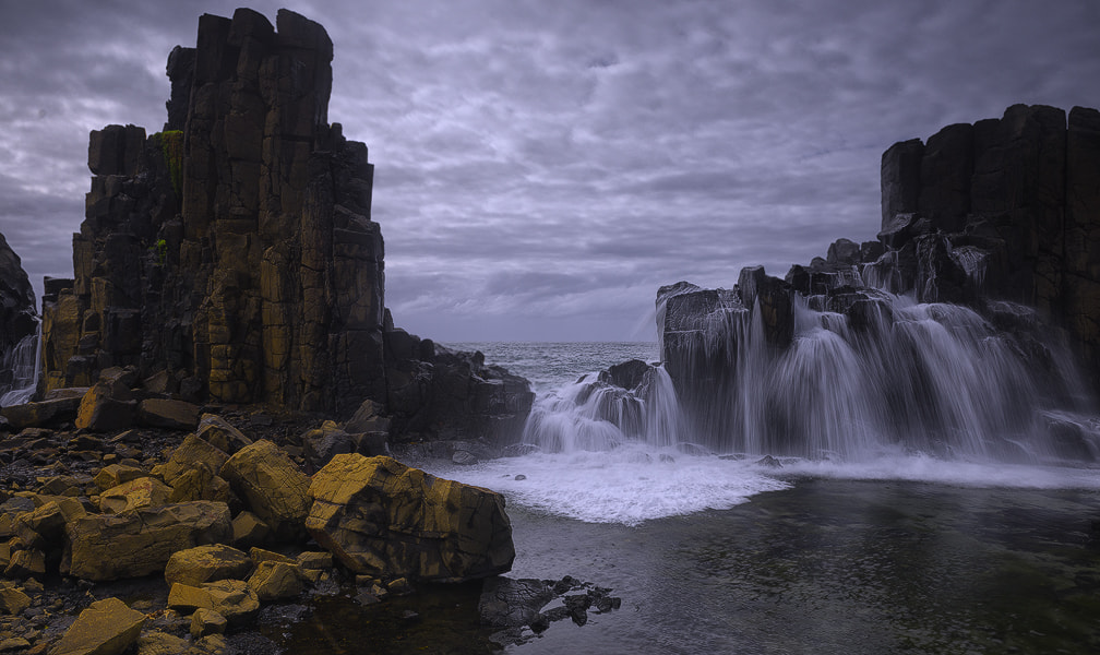 Photograph Bombo falls by donald Goldney on 500px